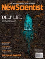 This week's cover of New Scientist